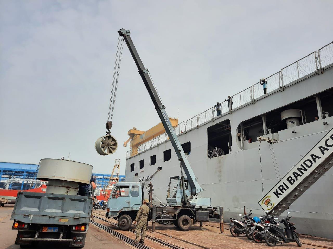 Kri Banda Aceh 593 Laksanakan Hardepo Siapkan Performa Untuk Operasi